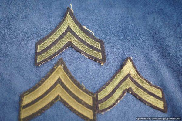 SMGL-2903 US ww2 era Army Corporal Chevrons