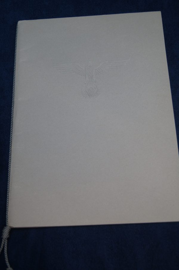 BDM Gymnastics Certificate with embossed folder