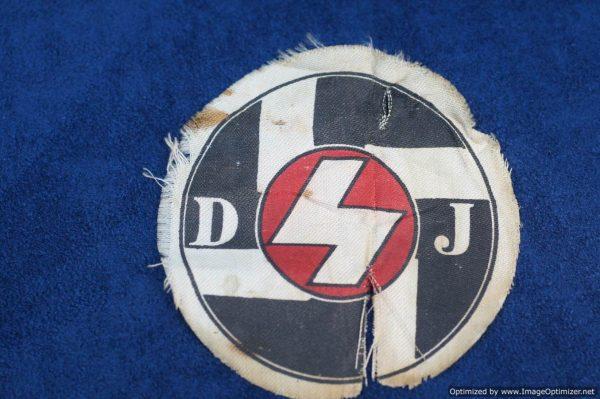 SGM-1344 DJ funeral sash Roundel