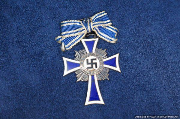 SGML-1352 Mothers Cross in Silver Brooch conversion
