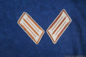 SGML-1347 Rural Police collar tabs pair