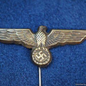 SGML-1355 Kreigsmarine Cap eagle in tombak
