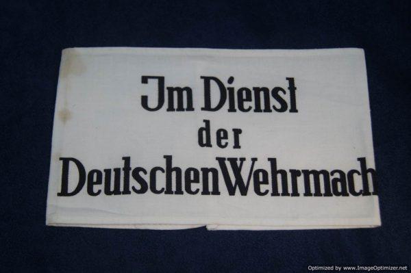SGM-1337 Im Dienst der Deutschen Wehrmacht