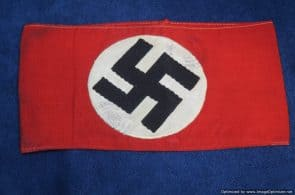 SGML-1363 Double Stamped DAF NSDAP Armband