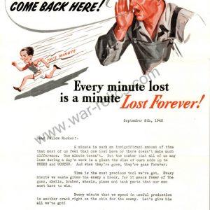 "SMGL-2923 Kelsey-Hayes Wheel Company Propaganda Memo ""Lost Forever"""