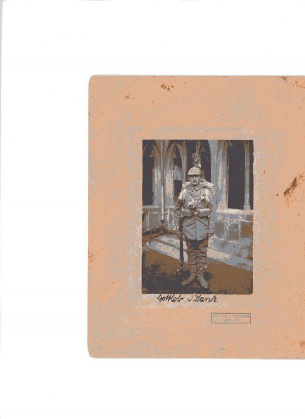 SGM-1330 WW1 Portrait for Gottlob Blank