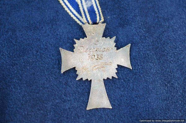 SGML-1368 Mother's Cross in Silver