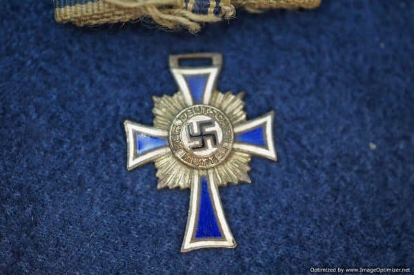 SGML-1367 Mini Mother's Cross in Silver