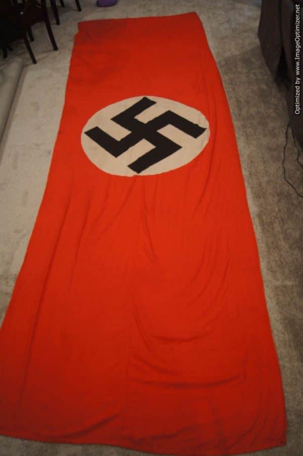 NSDAP train car or motor transport ID Flag