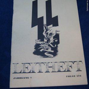 SS-Leitheft Jahrgang 7 Folge 12b early reprint