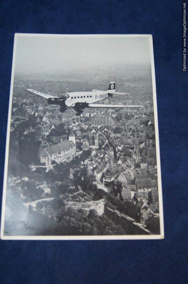 Cigarette insert Hitlers' plane