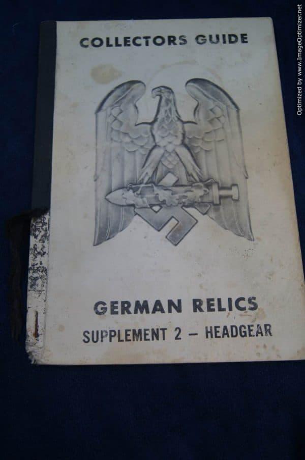 SGML-1400 Collectors guide German Relics Supplement 2 headgear
