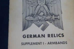 Collectors guide German Relics Supplement 1 Armbands