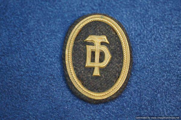 Deutsches Turner bund Official's Cap insignia