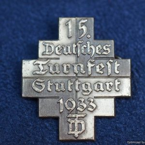 Deutsches Turnfest stuttgart 1933 badge