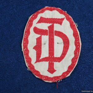Deutsches Turnerbund Shirt badge