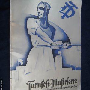 Turnfest-Illustrierte magazine Stuttgart 1933 Compilation book