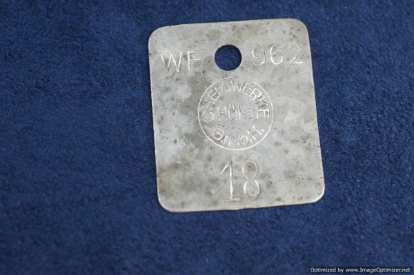Inventory Control Tag for Chemical Company
