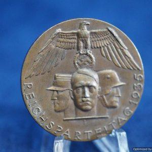 reichsparteitag 1935 badge