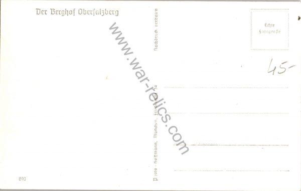 der berghof obersalzberg postcard