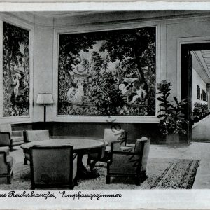 Berlin Neue Reichskanzlei empfangszimmer Post card