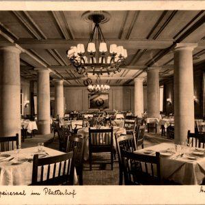 SMGL-1436 Gasthaus der platterhof Post card