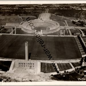 Olympic Reichssportfeld Ariel view