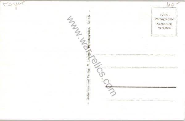SMGL-1441 Berghof Obersalzberg Post Card