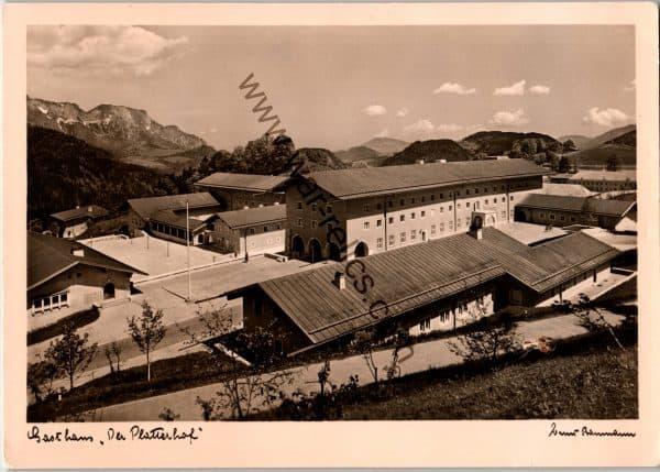 SMGL-1434 Gasthaus der platterhof Post card
