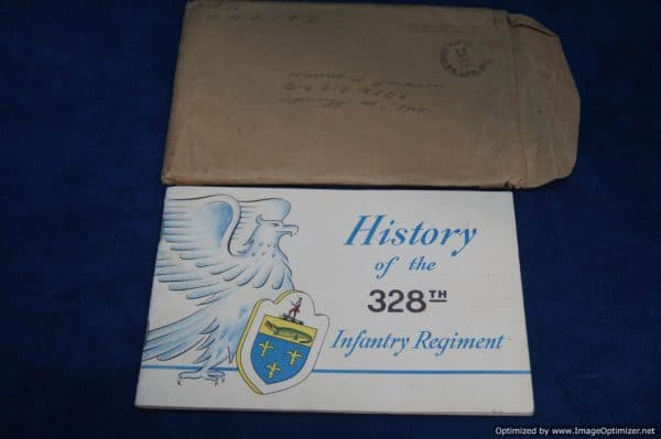 SMGQ-0022 history of the 328th infantry regiment