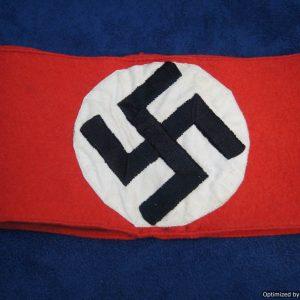 Early Wool NSDAP Armband
